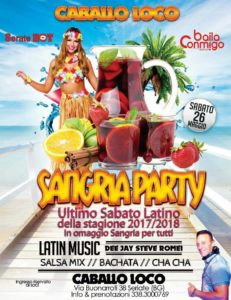 Saturday Latin Night - Caballo Loco