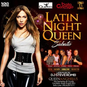 QUEEN LATIN NIGHT - Queen Anghelus