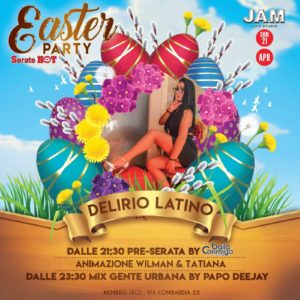 🐰EASTER PARTY🐣 DELIRIO LATINO – Jam Live Studio