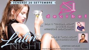 SENSUAL LATIN NIGHT - Decibel Club