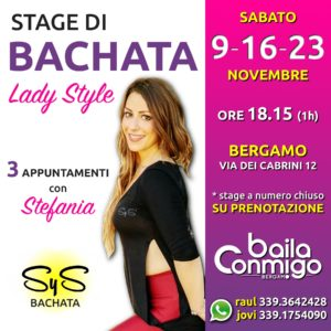 STAGE di BACHATA - Lady Style