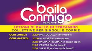 LEZIONI DI BALLO IN STREAMING COLLETTIVE