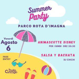 SUMMER PARTY Parco Rota d'Imagna