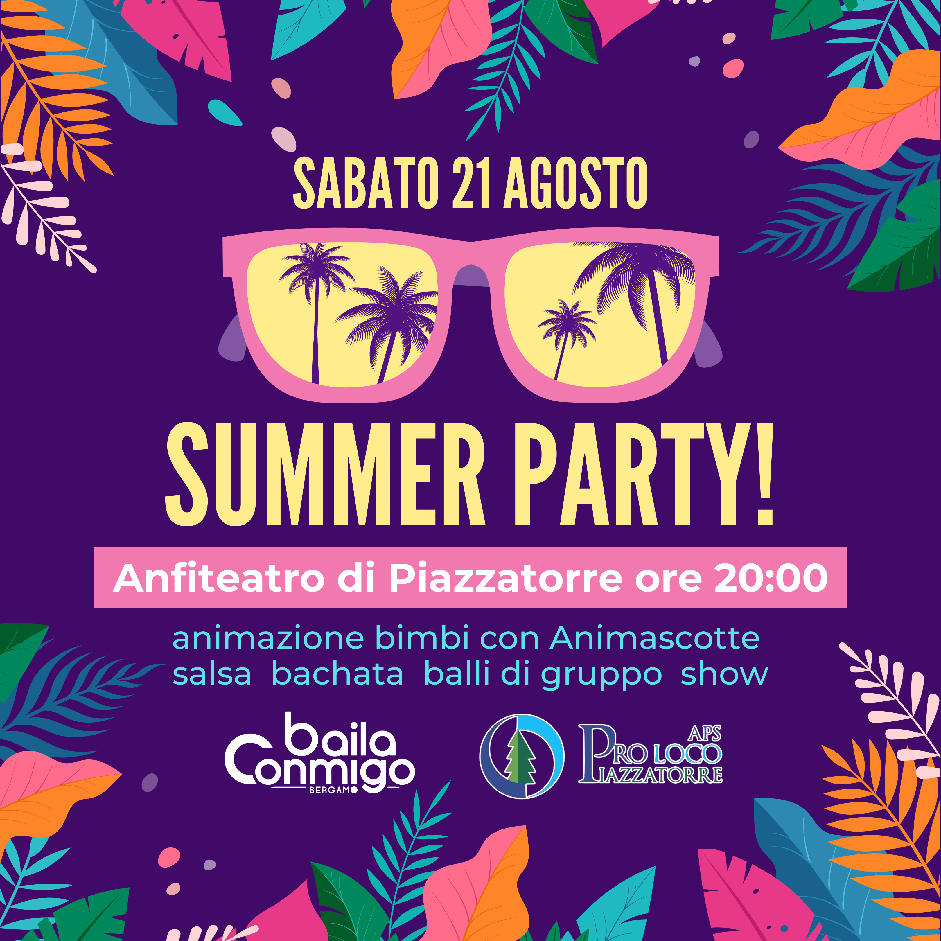 SUMMER PARTY Piazzatorre